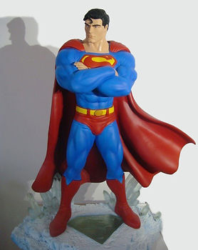 Superman | Jeff Meyer Art | Resin Restoration