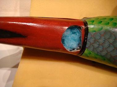 Sergio Bustamante Toucan | Jeff Meyer Art | Ceramic Restoration