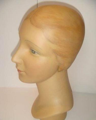 Mannequin Head | Jeff Meyer Art | Plaster Restoration