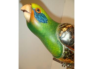 Sergio Bustamante Metal Parrot WIX 01-5-