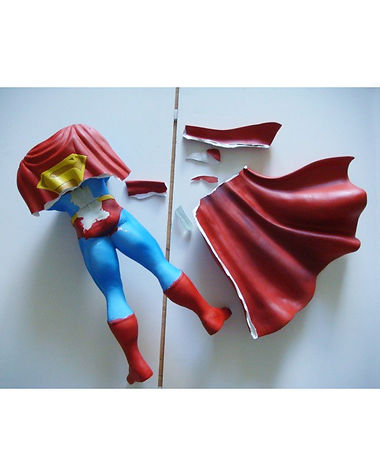 Superman Resin Sculpture Large WIX 01-1.