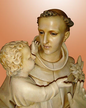 Saint Anthony   Jeff Meyer Art   Plaster Restoration