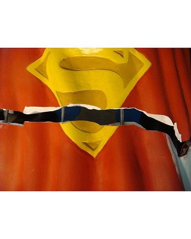 Superman Resin Sculpture Large WIX 01-2.