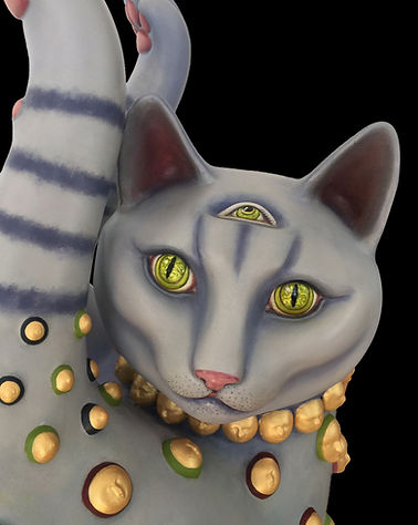 Sergio Bustamante Misha Cat | Jeff Meyer Art | Ceramic Restoration