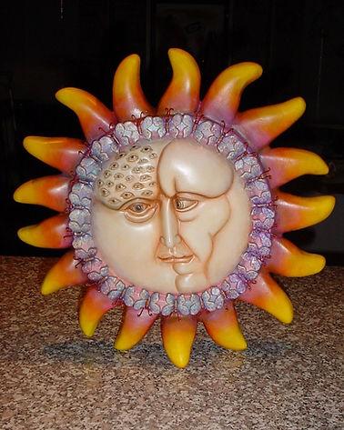 Sergio Bustamante Standing Sun | Jeff Meyer Art | Ceramic Restoration