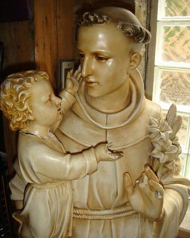 Saint Anthony | Jeff Meyer Art | Plaster Restoration