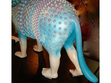 Sergio Bustamante Two-Headed Cat | Jeff Meyer Art | Ceramic Restoration