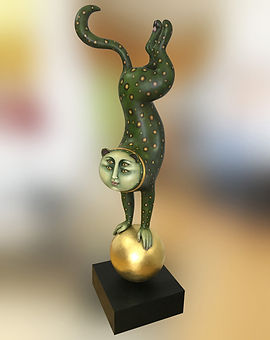 AFTER Picture | THE PROCESS | Sergio Bustamante Leopard Restoration | Jeff Meyer Art
