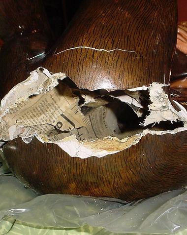 Sergio Bustamante Hanging Chimp | Jeff Meyer Art | Paper Mache Restoration