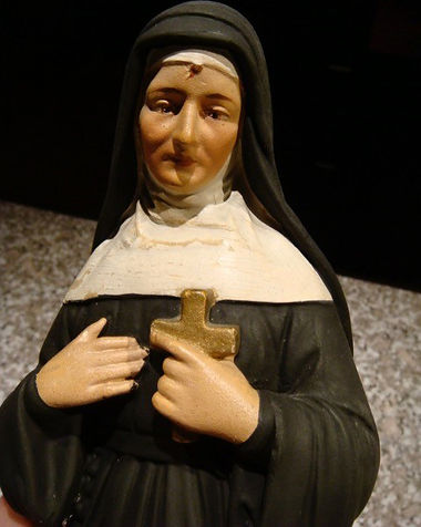 Saint Rita | Jeff Meyer Art | Plaster Restoration