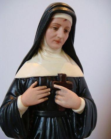 Saint Rita | Jeff Meyer Art | Plaster Restoration