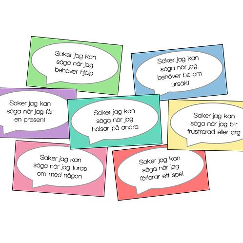 Förslag på fraser