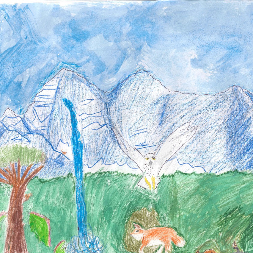 1st Prize - Parker T. from Montclair