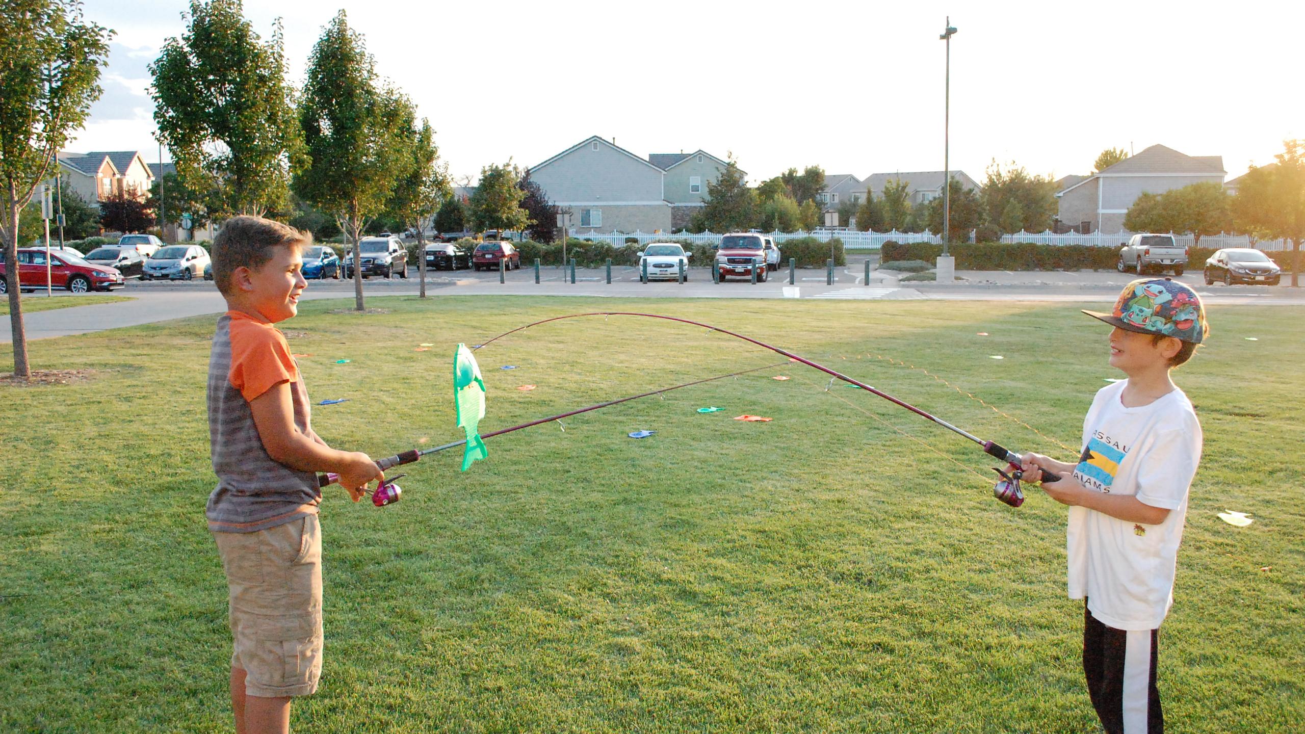 Fishing duelists