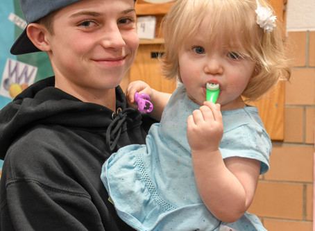 Secrest Overflows with Partners at Family Nature Night