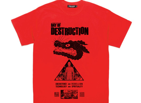 UNDER COVER  映画『破壊の日』制作支援Tシャツ 受注限定発売