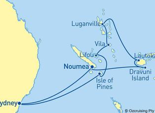 HAL ms Zaandam - South Pacific / Fiji