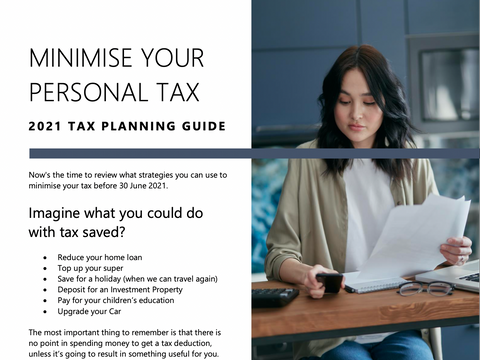Minimize your Personal Tax