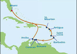 Celebrity Eclipse - Exotic Southern Caribbean