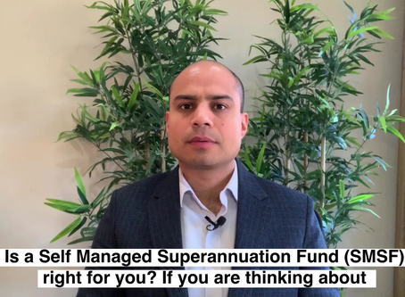 Is a Self Managed Superannuation Fund right for you?