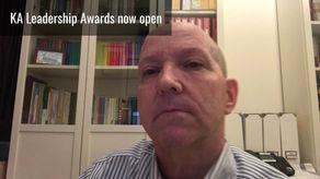 KA Leadership Award Judge - Robert Williams