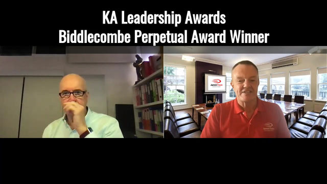Biddlecombe Perpetual Award Winner 2020