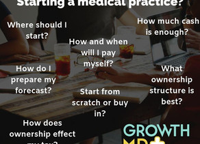 Starting a medical practice?