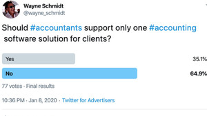 Supporting more than one accounting app