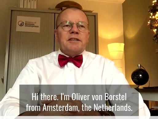 KA Leadership Award Judge - Oliver von Borstel