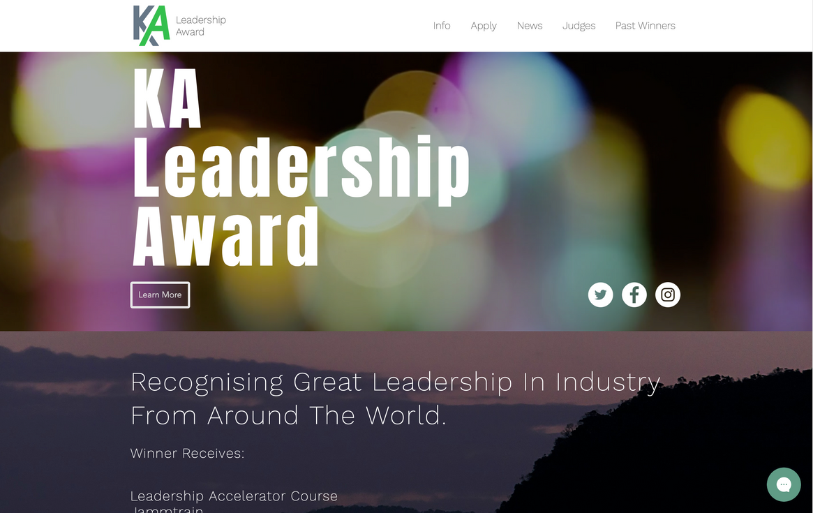 KA Leadership Award