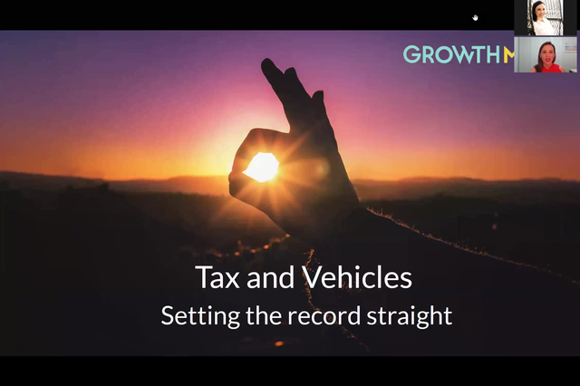 Tax and Vehicles - Setting the record straight