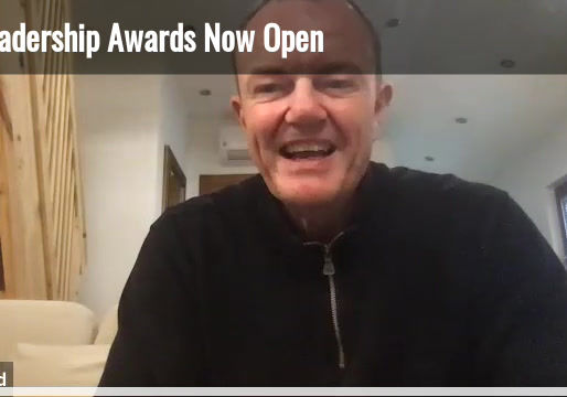 An update from Jamie Lord founder of the KA Leadership Award