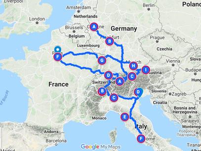 Three Months in Europe