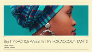 Best practice website tips for accountants