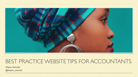 Best practice website tips for accountants