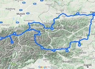 Four Months in Austria
