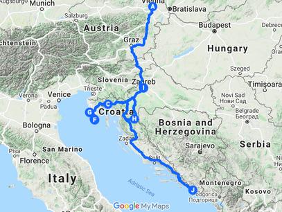 Three months in Croatia