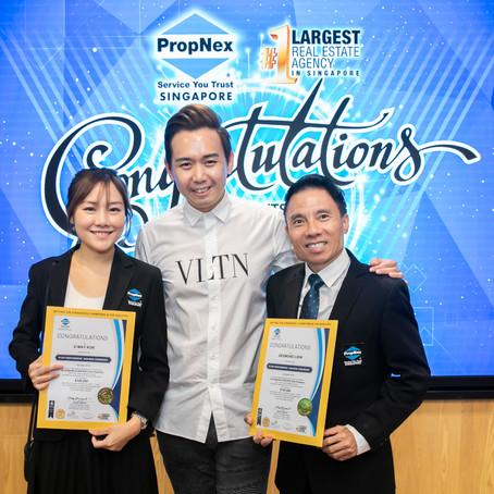 RLD's Desmond Liew Awarded Platinum Award at Star Performers Ceremony Nov'19