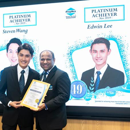 RLD's Edwin Lee Scores Platinum at December's Star Performer Awards