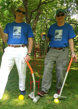 Friendly Game of Croquet