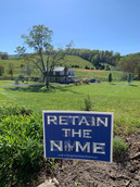 Signs out in the country