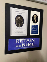 Framed Art Created by Current Student Leader
