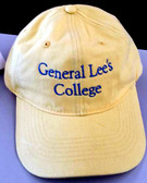 The General Lee hat in yellow