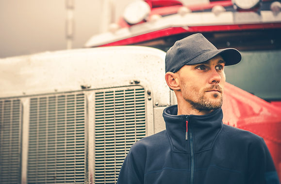 Occupation Semi Truck Driver. Trucking a