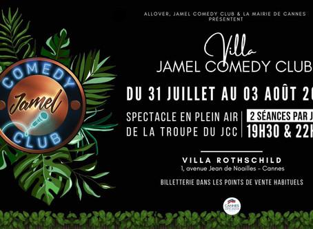 START Aime: Le Jamel Comedy Club s'installe à Cannes du 31 juillet au 3 août