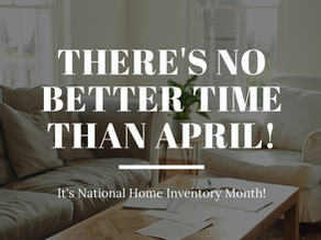 The Best Spring Project is a Home Inventory.
