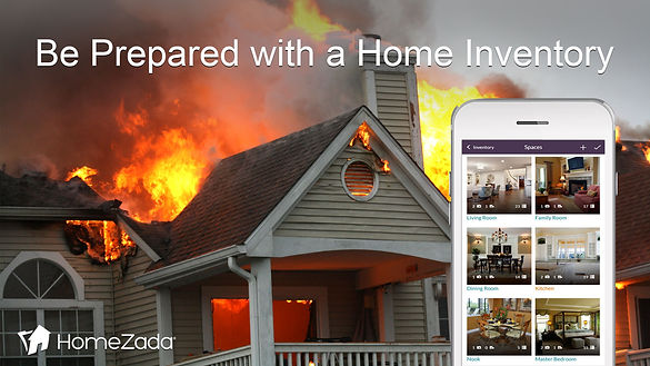 homezada - be prepared with a home inven
