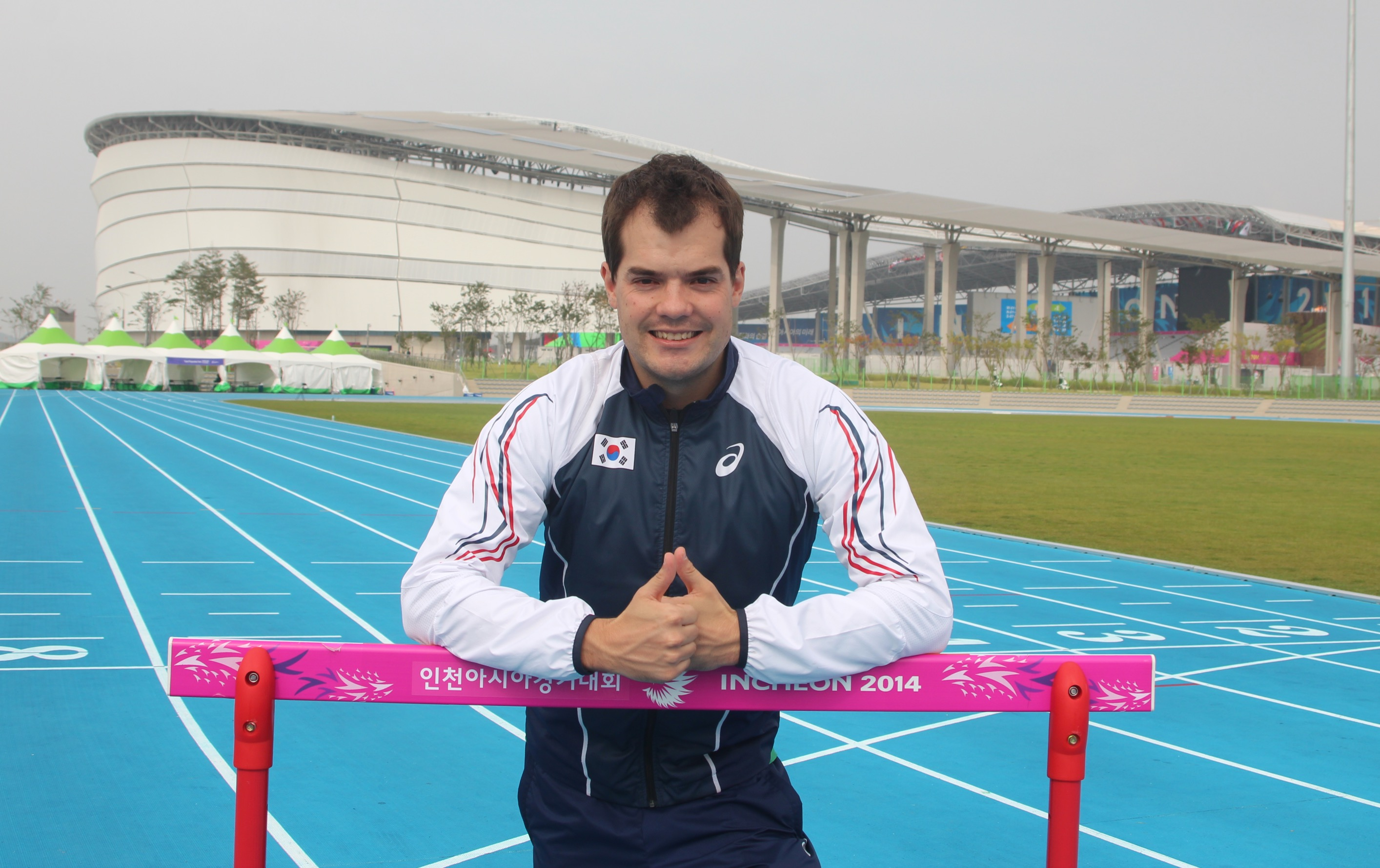 Athletics Team Physio - Incheon Asian Games