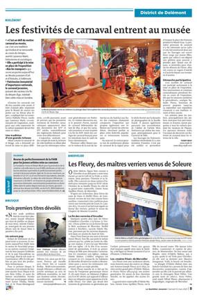 """L'exposition """"Bas les masques ! """" dans les médias"""