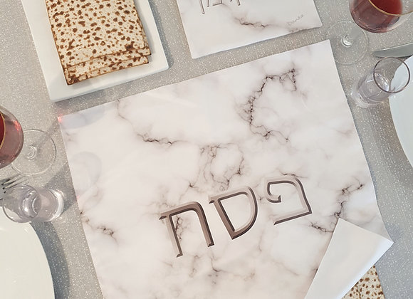 Marble Pesach Set